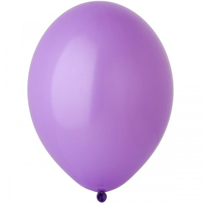 Латексный шар 12″ (30 см.) Пастель Лавандовый #009 (Belbal) (50 шт.)