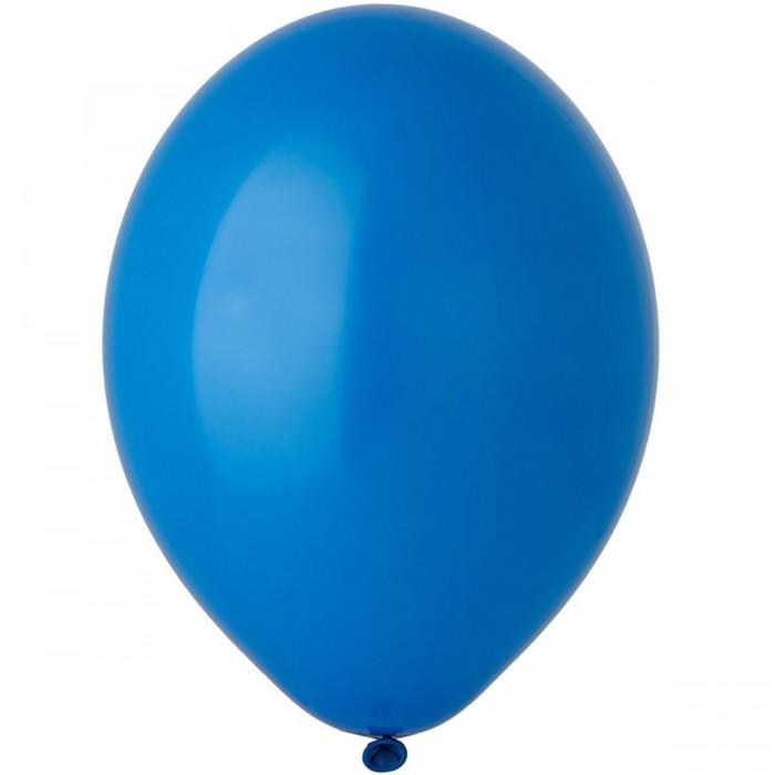 Латексный шар 12″ (30 см.) Пастель Синий #012 (Belbal) (50 шт.)