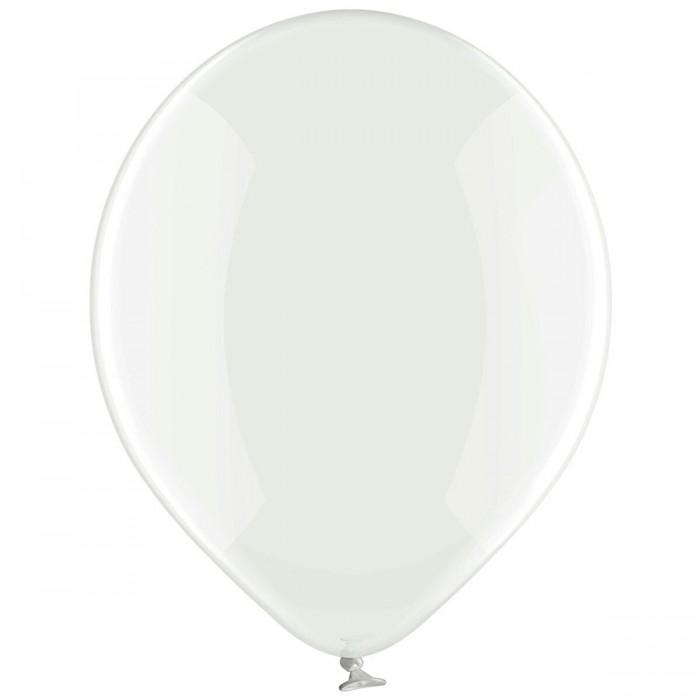Латексный шар 12″ (30 см.) Кристалл Прозрачный #038 (Belbal) (50 шт.)
