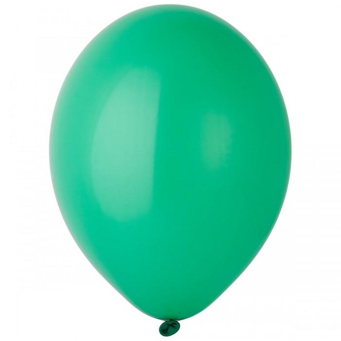 Латексный шар 12″ (30 см.) Пастель Экстра Bright Green #135 (Belbal) (50 шт.)