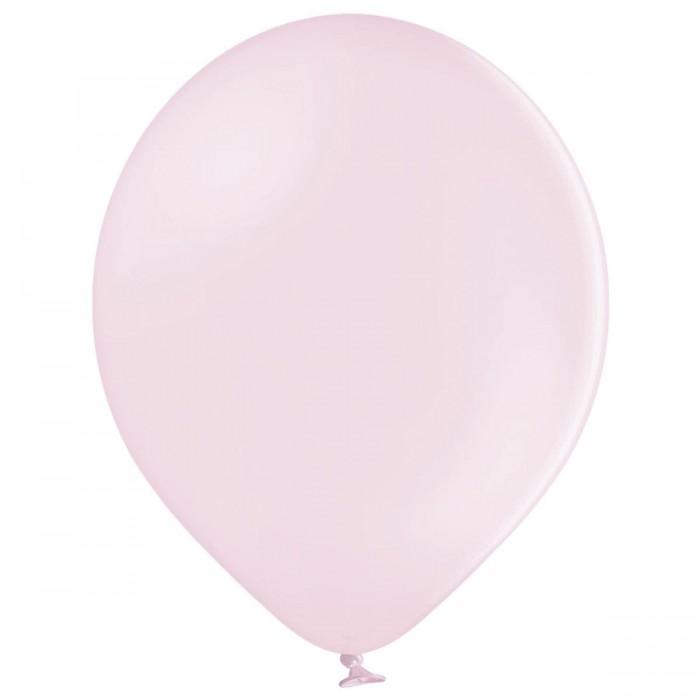 Латексный шар 12″ (30 см.) Пастель Светло-Розовый Макарун #454 (Belbal) (50 шт.)