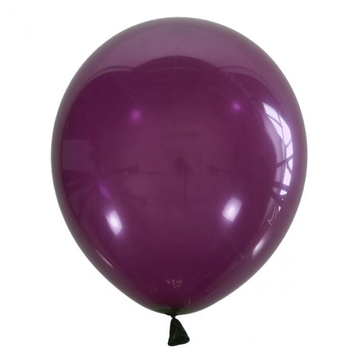 """Латексный шар 12"""" (30 см.) Декоратор DARK VIOLET #061 – (1 шт.)"""