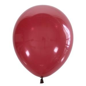 """Латексный шар 12"""" (30 см.) Декоратор BURGUNDY #046 (M) – (1 шт.)"""