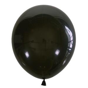 """Латексный шар 12"""" (30 см.) Декоратор BLACK #048 (M) – (1 шт.)"""