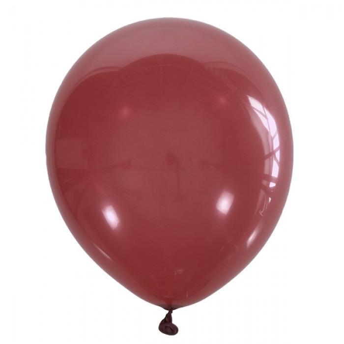 "Латексный шар 12"" (30 см.) Декоратор CHERRY RED #058 (M) – (1 шт.)"