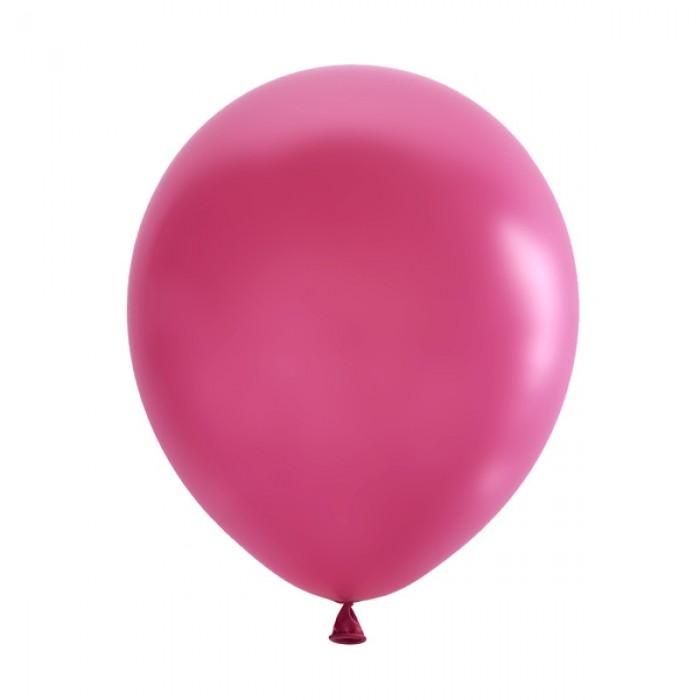 "Латексный шар 12"" (30 см.) Декоратор FUCHSIA #060 (M) – (1 шт.)"