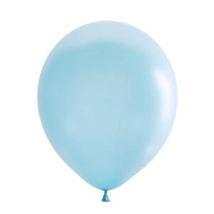 """Латексный шар 12"""" (30 см.) Декоратор AQUA BLUE #992 (M) – (1 шт.)"""