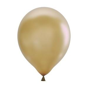 "Латексный шар 12"" (30 см.) Металлик GOLD #025 (M) – (100 шт.)"