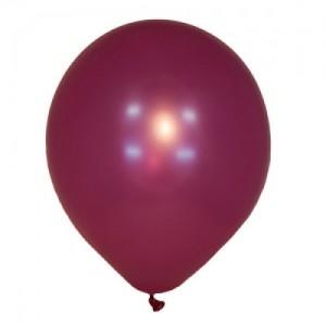 "Латексный шар 12"" (30 см.) Металлик MEXICAN PINK #037 (M) – (100 шт.)"
