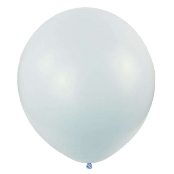 """Латексный шар 12"""" (30 см.) Пастель Macaroon BLUEBERRY #086 (M) – (1 шт.)"""