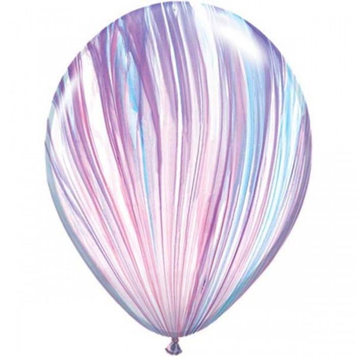 Латексный шар 11″ (28 см.) Cупер Агат Fashion (1шт.)