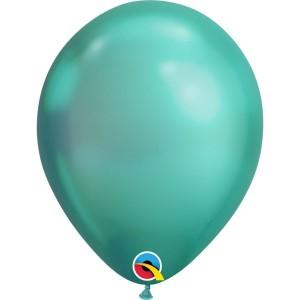Латексный шар 11″ (28 см.) ХРОМ Зеленый Chrome Green (1 шт.)