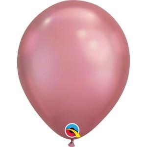 Латексный шар 11″ (28 см.) ХРОМ Розовый Chrome Mauve (1 шт.)