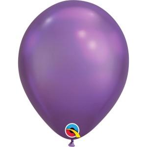 Латексный шар 11″ (28 см.) ХРОМ Фиолетовый Chrome Purple (1 шт.)