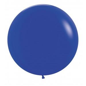 """Латексный шар 32"""" (80 см.) Пастель Темно Синий #46 (Gemar) (1шт.)"""