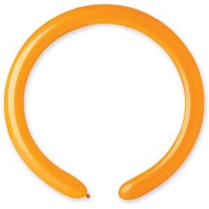 Латексный шар ШДМ 260-2/04 Пастель Оранжевый (Gemar) (100 шт.)