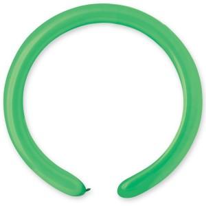 Латексный шар ШДМ 260-2/12 Пастель Светло-Зеленый (Gemar) (100 шт.)