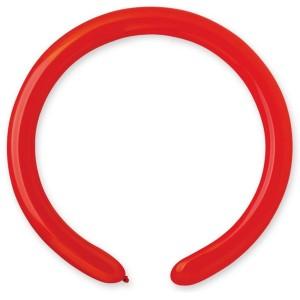 Латексный шар ШДМ 260-2/45 Пастель Красный (Gemar) (100 шт.)