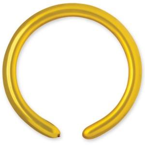 Латексный шар ШДМ 260-2/39 Металлик Золотой (Gemar) (100 шт.)
