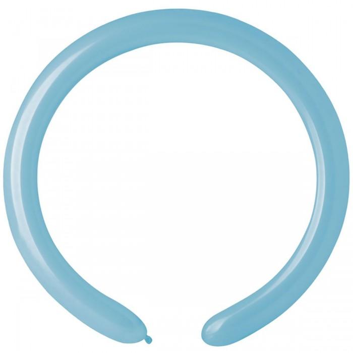 Латексный шар ШДМ 260-2/72 Голубой Матовый (Gemar) (100 шт.)
