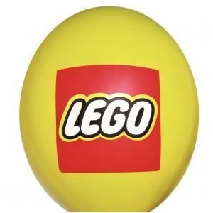 "Шар с рис. 12"" (30 см) Lego / Лего Эмблема (BelBal) (1 шт.)"